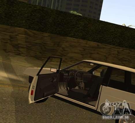 ВАЗ 2108 GVR Versão 1.2 para GTA San Andreas vista direita