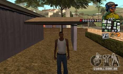 C-HUD Rider para GTA San Andreas segunda tela