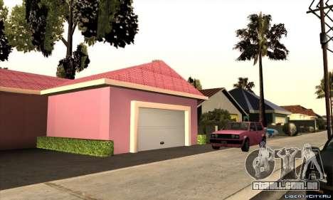 Casa nova Mili para GTA San Andreas segunda tela