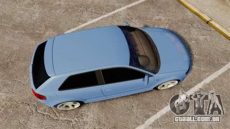 Audi S3 EmreAKIN Edition para GTA 4 vista direita