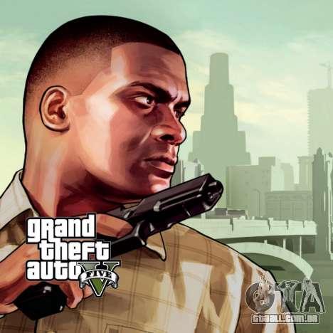 Tela de inicialização do GTA V para GTA San Andreas segunda tela
