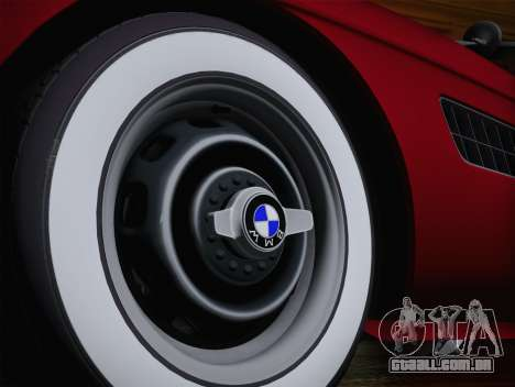 BMW 507 1959 Stock para GTA San Andreas traseira esquerda vista