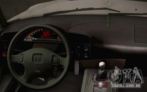 Honda S2000 Edit para GTA San Andreas vista direita