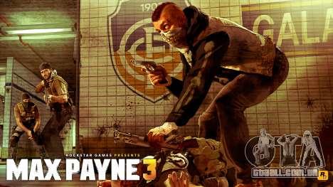 Arranque telas de Max Payne 3 HD para GTA San Andreas segunda tela