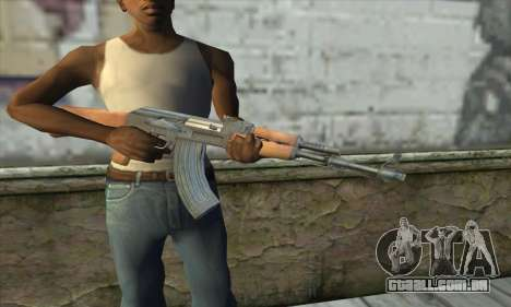 AK47 para GTA San Andreas terceira tela