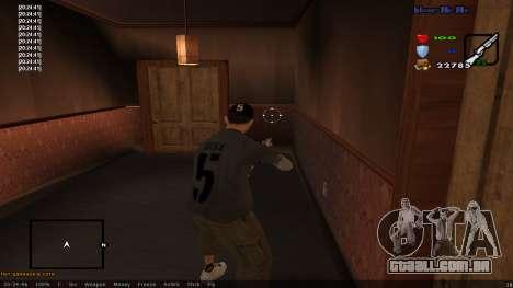 CLEO Skill for 0.3z new version para GTA San Andreas terceira tela