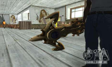 Dragon Nest Warrior Marine Sword para GTA San Andreas terceira tela