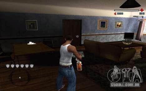 C-HUD by Pro para GTA San Andreas segunda tela