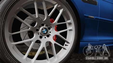 BMW M3 E46 GTR 2005 para GTA San Andreas vista traseira