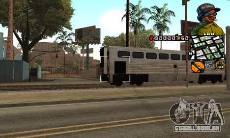 C-HUD Rider para GTA San Andreas