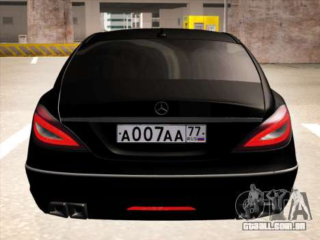Mercedes-Benz CLS350 2012 para GTA San Andreas vista interior