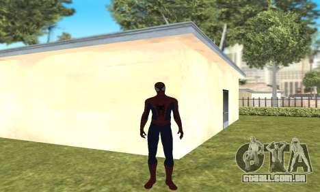 O novo homem-aranha para GTA San Andreas segunda tela