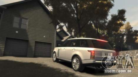 Range Rover Vogue 2014 para GTA 4 vista superior