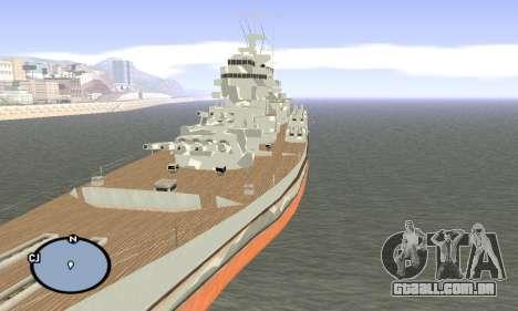 HMS Prince of Wales para GTA San Andreas