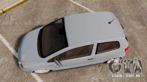 Volkswagen Fox para GTA 4 vista direita
