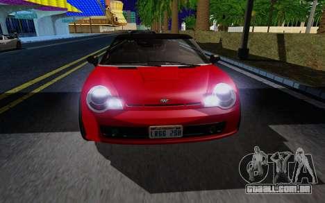 GTA 5 Weeny Issi V1.0 para GTA San Andreas esquerda vista
