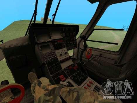 KA-60 para GTA San Andreas esquerda vista