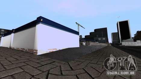Nova Garagem para GTA San Andreas por diante tela