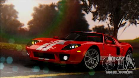 Distance View Mod para GTA San Andreas quinto tela