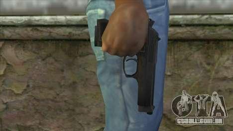 M9 Pistol para GTA San Andreas terceira tela