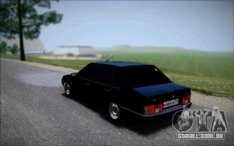 VAZ 21099 o Bandido para GTA San Andreas esquerda vista