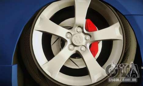 Mazda Axela Sport 2005 para GTA San Andreas traseira esquerda vista