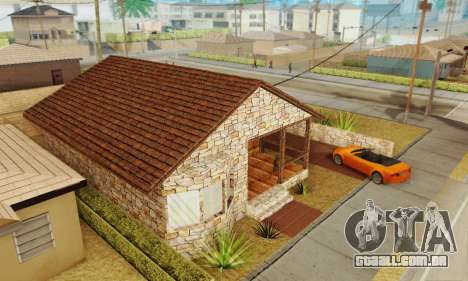 Nova casa do big Smoke para GTA San Andreas terceira tela