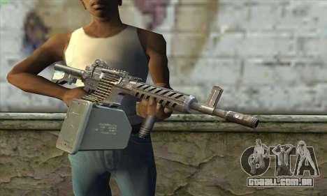M4 Gunner para GTA San Andreas terceira tela