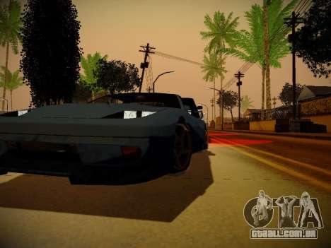 ENBSeries para PC fraco por Makar_SmW86 para GTA San Andreas por diante tela