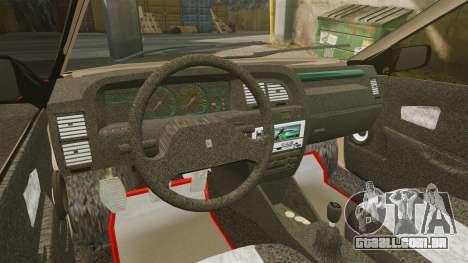 Citroen Xantia para GTA 4 vista de volta