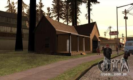 Nova casa do Sijia em Angel Pine para GTA San Andreas terceira tela