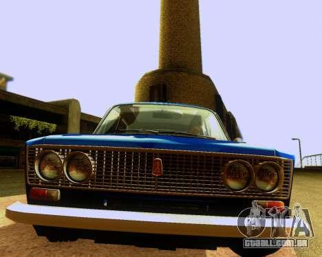 VAZ 2103 Tuneable para GTA San Andreas interior