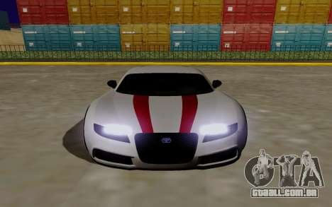 Gta 5 Truffade Adder para GTA San Andreas vista direita