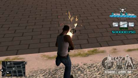 C-HUD RJ Aztecaz para GTA San Andreas terceira tela