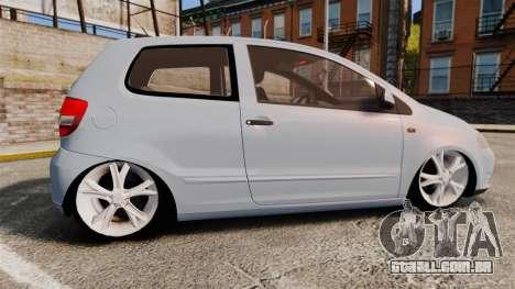Volkswagen Fox para GTA 4 esquerda vista