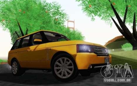 Range Rover Supercharged Series III para GTA San Andreas