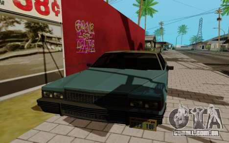 Emperor GTA 5 para GTA San Andreas esquerda vista