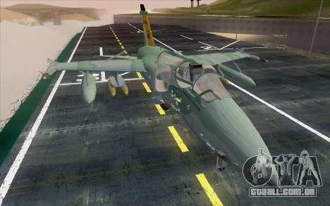 A-1M AMX para GTA San Andreas vista direita