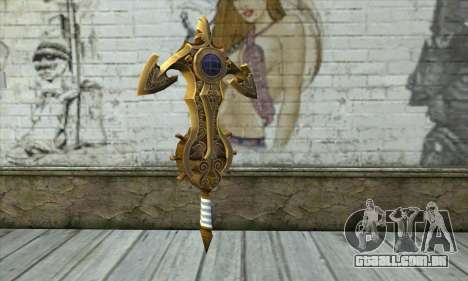 Dragon Nest Warrior Marine Sword para GTA San Andreas