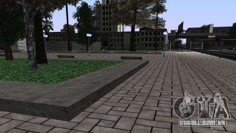 Novo Parque para GTA San Andreas por diante tela