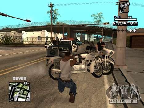 C-HUD By Kapo para GTA San Andreas sétima tela