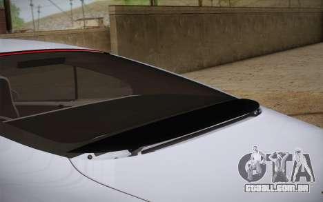 Bentley Continental SuperSports 2010 v2 Finale para GTA San Andreas vista traseira