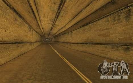 RoSA Project v1.4 Countryside SF para GTA San Andreas por diante tela