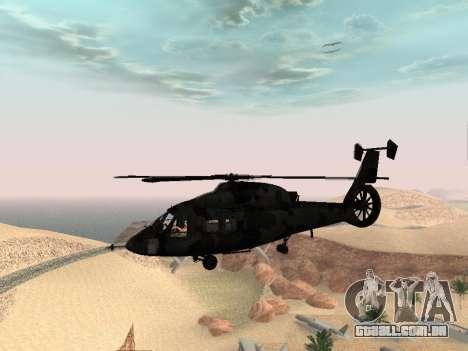 KA-60 para GTA San Andreas vista traseira
