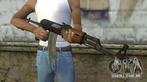 AKM Assault Rifle para GTA San Andreas terceira tela