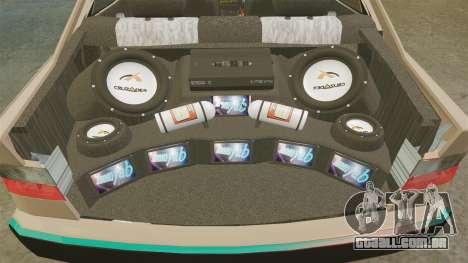 Citroen Xantia para GTA 4 vista lateral