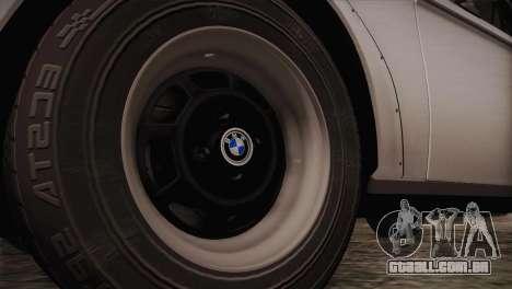 BMW 2002 1973 para GTA San Andreas vista traseira
