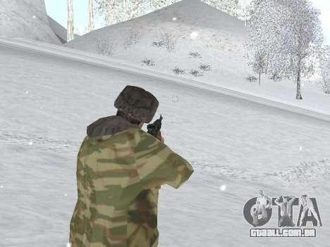 Pak exército russo serviço para GTA San Andreas sexta tela