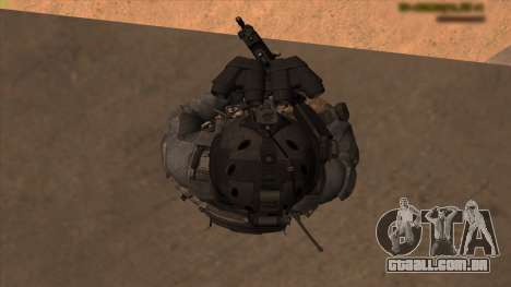 Sgt Keegan P.Russ из Call Of Duty: Ghosts para GTA San Andreas oitavo tela