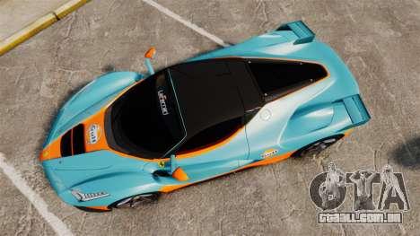 Ferrari LaFerrari v2.0 para GTA 4 vista direita